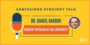 Podcast interview with Dr. Daniel Barron, Chief Resident at Yale University. Listen to the show!